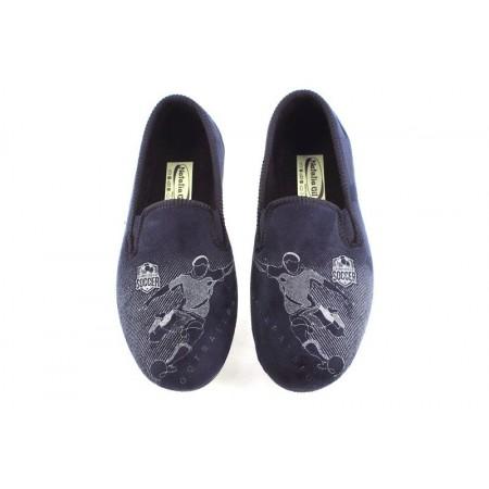 Zapatillas de casa de NATALIA modelo 6074 color azul marino