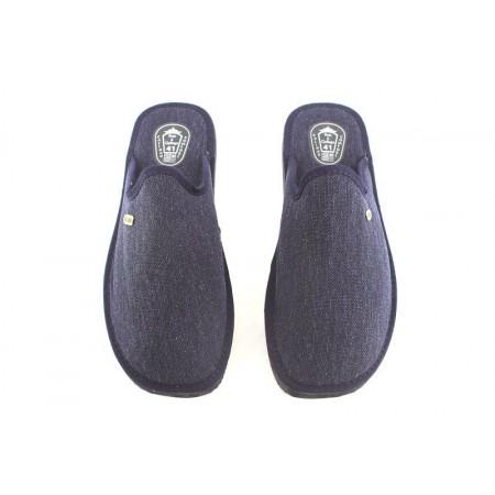 Zapatillas de casa de RUIZ Y GALLEGO modelo 3101 color azul marino