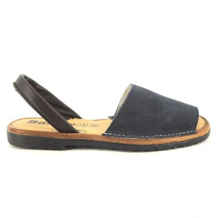 Sandalias de BARTTY modelo 1840NOBUCK color azul marino