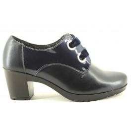 Zapatos con cordones de BAERCHI modelo 36352 color azul marino