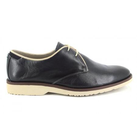 Zapatos con cordones de BAERCHI modelo 4080 color azul marino