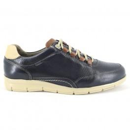 Zapatos con cordones de BAERCHI modelo 4335 color azul marino