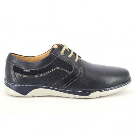 Zapatos con cordones de BAERCHI modelo 5360DUBAI color azul marino