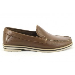 Mocasines de BAERCHI modelo 7124 color cuero