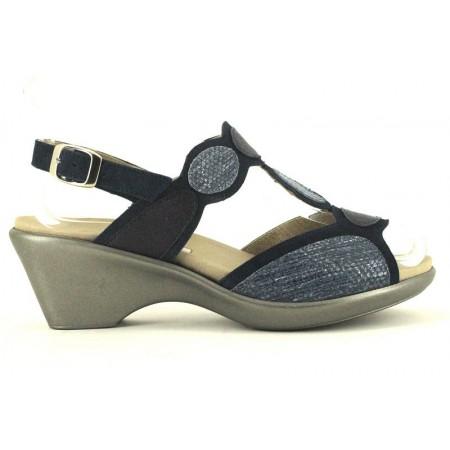 Sandalias de PIE SANTO modelo 180863 color azul marino