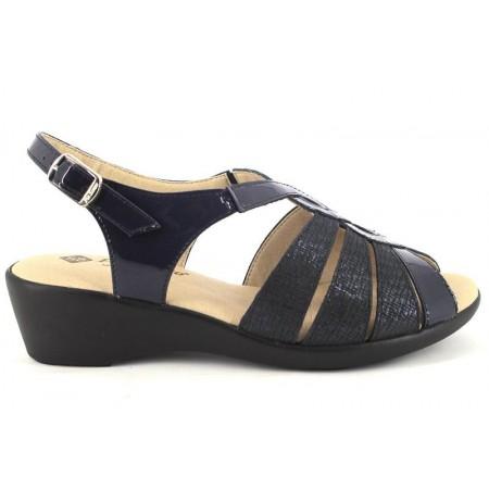 Sandalias de PIE SANTO modelo 190392 color azul marino