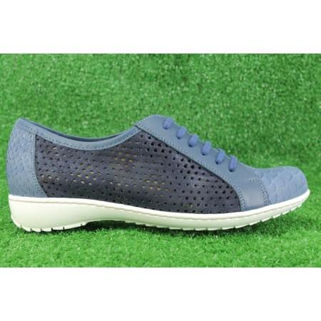 Zapatos con cordones de PIE SANTO modelo 8752 color azul marino