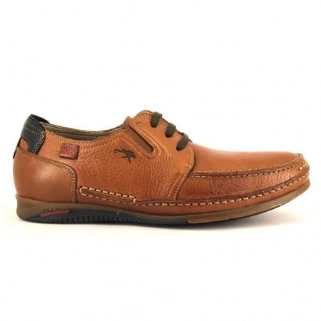 Zapatos con cordones de FLUCHOS modelo 8353 color cuero