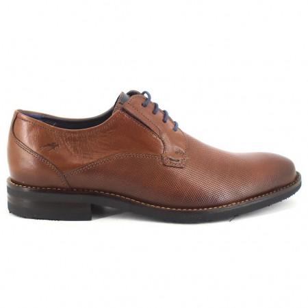 Zapatos con cordones de FLUCHOS modelo F0123 color cuero