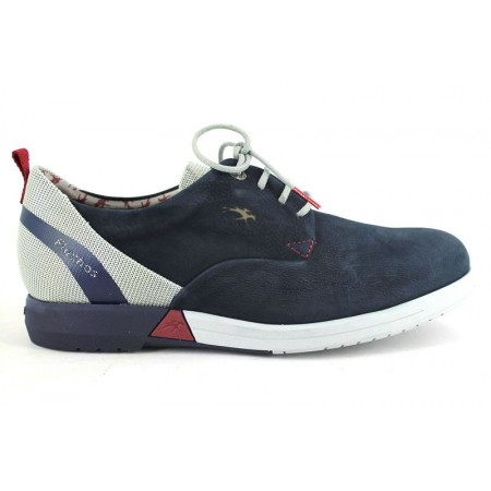 Zapatos con cordones de FLUCHOS modelo 9787 color azul marino