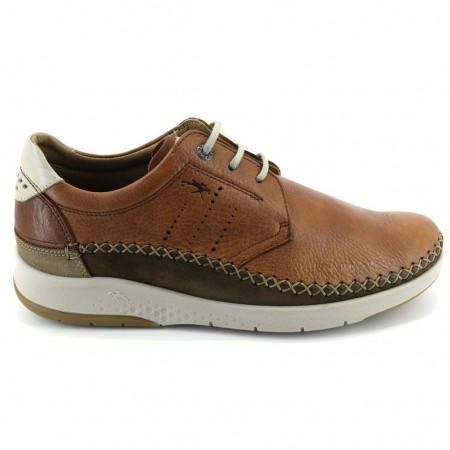 Zapatos con cordones de FLUCHOS modelo F0795 color cuero