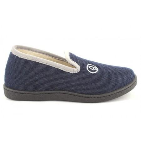 Zapatillas de casa de ROAL modelo 12279 color azul marino