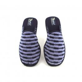 Zapatillas de casa de DESPINOSA modelo 1843 color azul marino