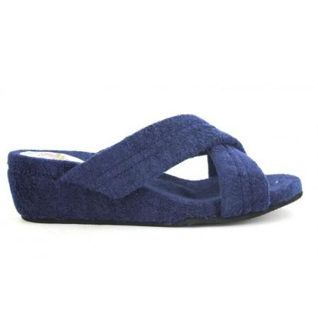 Zapatillas de casa de DESPINOSA modelo 258 color azul marino