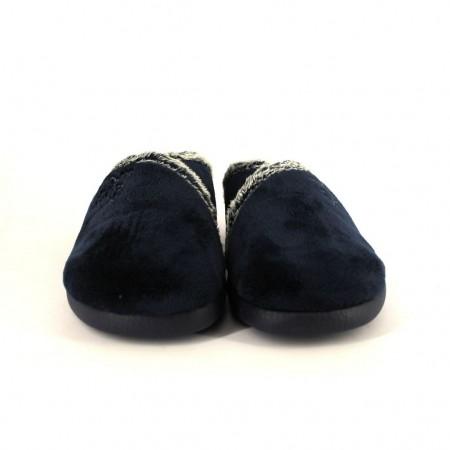 Zapatillas de casa de GARZON modelo 3305 color azul marino