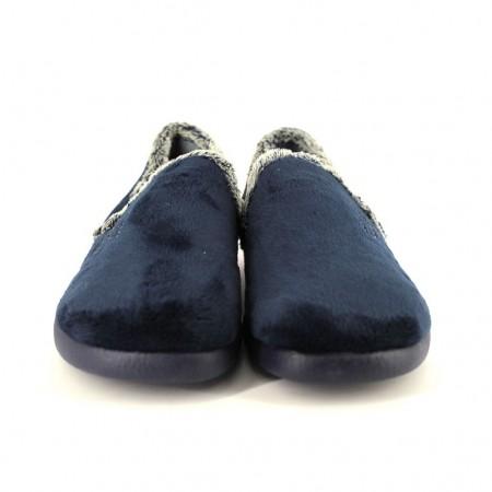 Zapatillas de casa de GARZON modelo 3843 color azul marino