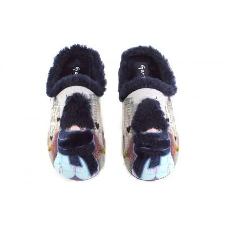 Zapatillas de casa de GARZON modelo 5067.246 color azul marino