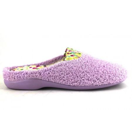 Zapatillas de casa de GARZON modelo 7290 color malva