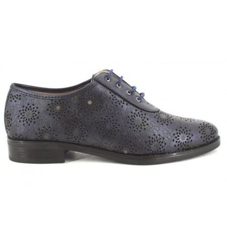 Zapatos con cordones de PITILLOS modelo 3010 color azul marino