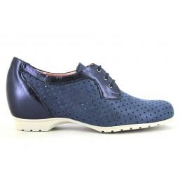 Zapatos con cordones de PITILLOS modelo 3523 color azul marino