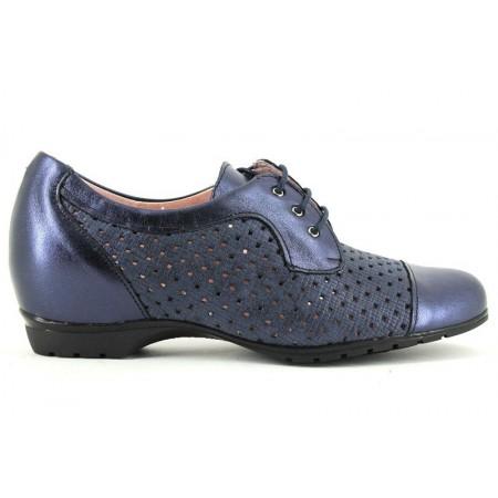 Zapatos con cordones de PITILLOS modelo 3712 color azul marino