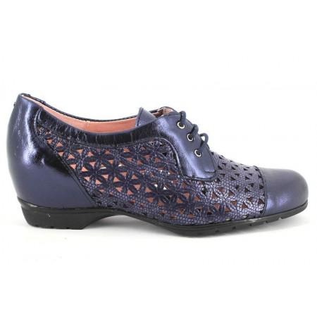 Zapatos con cordones de PITILLOS modelo 3911 color azul marino