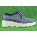 Zapatos con cordones de PITILLOS modelo 5110 color azul marino