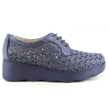 Zapatos con cordones de PITILLOS modelo 5590 color azul marino