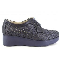 Zapatos con cordones de PITILLOS modelo 6080 color azul marino