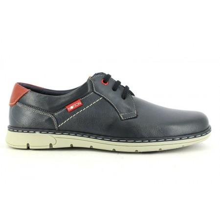 Zapatos con cordones de NOTTON modelo 166 color azul marino
