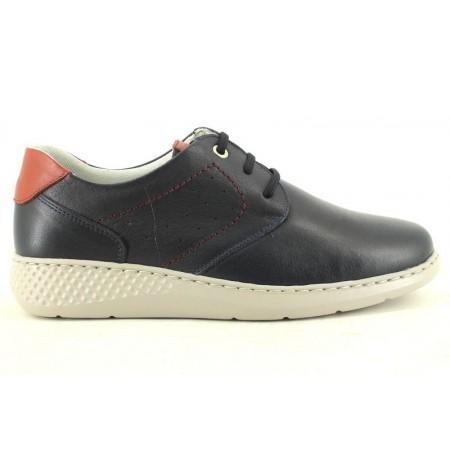 Zapatos con cordones de NOTTON modelo 93 color azul marino
