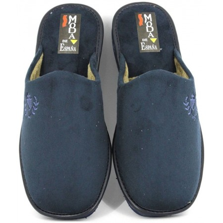 Zapatillas de casa de RASHA modelo 3015 color azul marino