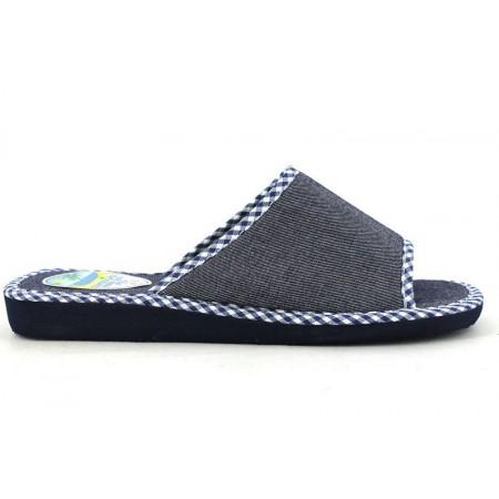 Zapatillas de casa de RASHA modelo 6021 color azul marino