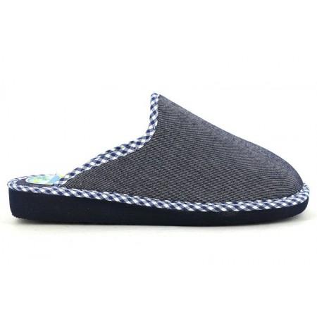 Zapatillas de casa de RASHA modelo 6421 color azul marino