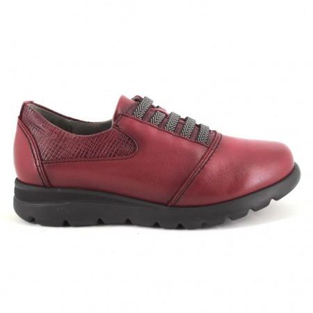 Zapatos de DCHICAS modelo 5800 color burdeos
