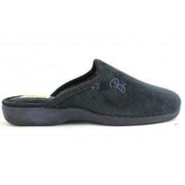 Zapatillas de casa de BEREVERE modelo 063 color azul marino