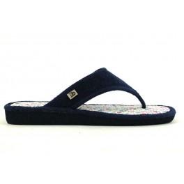 Zapatillas de casa de BEREVERE modelo 8001 color azul marino