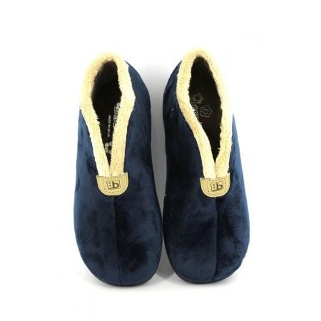 Zapatillas de casa de BEREVERE modelo 886 color azul marino