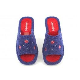 Zapatillas de casa de BEREVERE modelo V0008 color azul marino