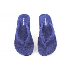 Zapatillas de casa de BEREVERE modelo V9301 color azul marino
