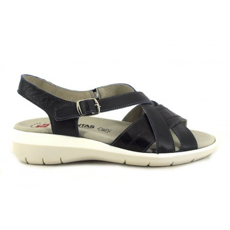 Sandalias de TREINTA'S modelo 3366 color azul marino