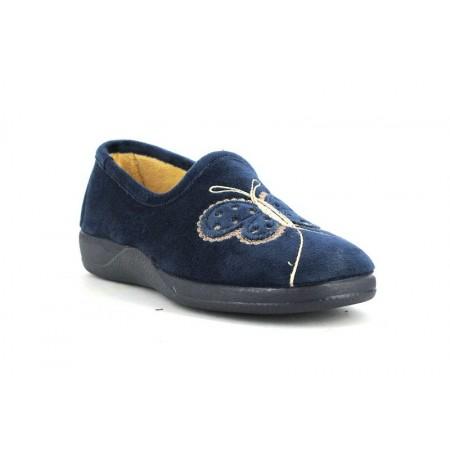 Zapatillas de casa de DEVALVERDE modelo 122 color azul marino