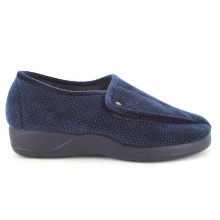 Zapatillas de casa de DEVALVERDE modelo 124 color azul marino