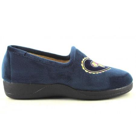 Zapatillas de casa de DEVALVERDE modelo 136 color azul marino