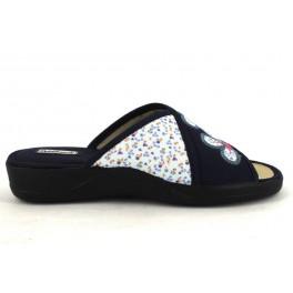 Zapatillas de casa de DEVALVERDE modelo 152 color azul marino