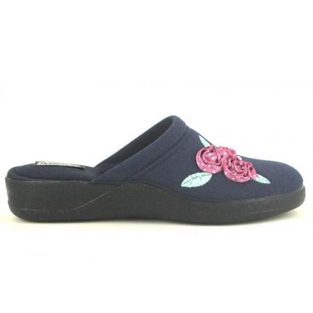 Zapatillas de casa de DEVALVERDE modelo 187 color azul marino