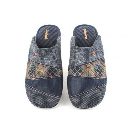Zapatillas de casa de DEVALVERDE modelo 3004 color azul marino