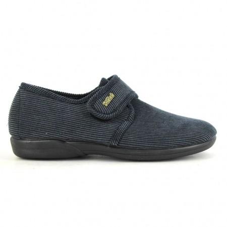 Zapatillas de casa de DEVALVERDE modelo 3024 color azul marino