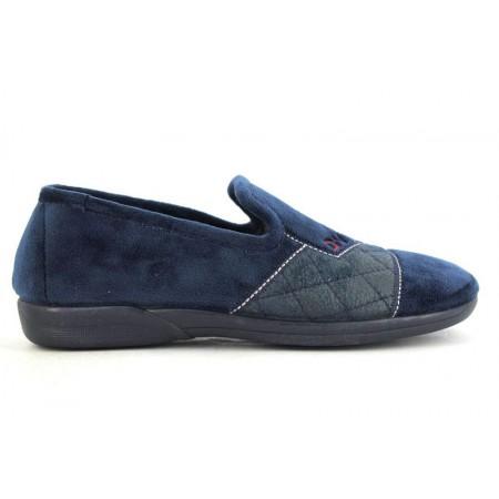 Zapatillas de casa de DEVALVERDE modelo 3088 color azul marino