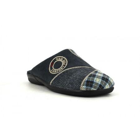 Zapatillas de casa de DEVALVERDE modelo 3092 color azul marino